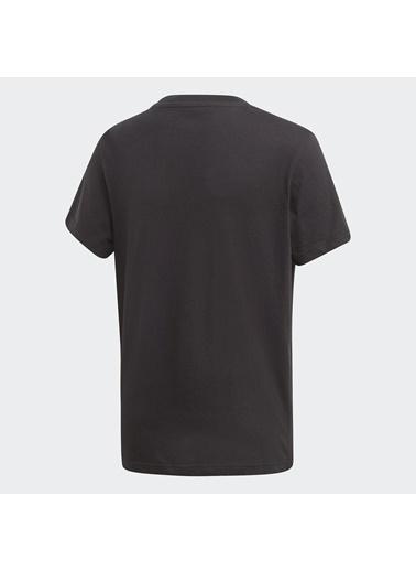 adidas Unisex Çocuk Trefoil Tişört DV2905 Siyah